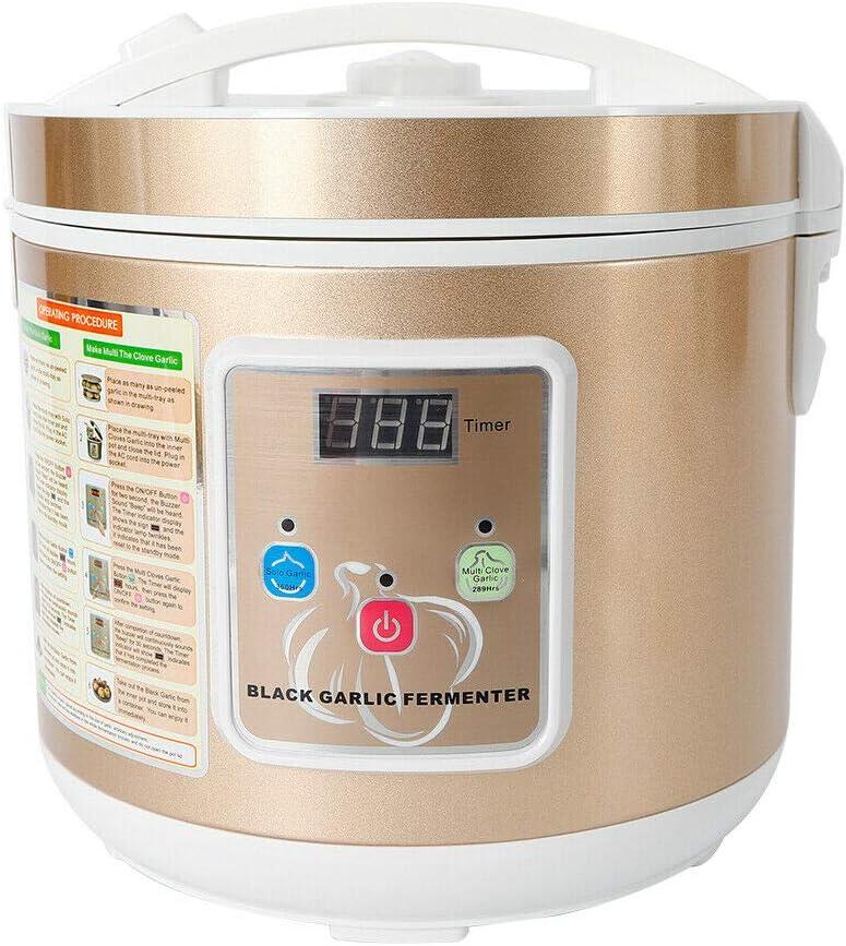 5L Black Garlic Fermenter,Full Automatic Black Garlic Maker Garlic Fermentation Machine (5L Gold)