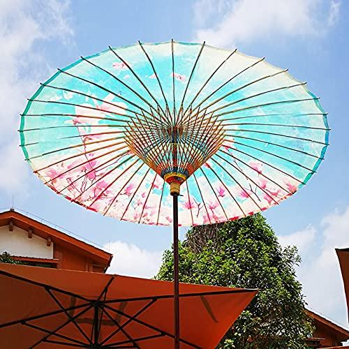 OOOMG Sombrilla De Papel De Aceite De 2 M Personalizable Sombrilla De Jardín Grande para Exteriores, Plegable Y Sombrilla De Patio A Prueba De Lluvia