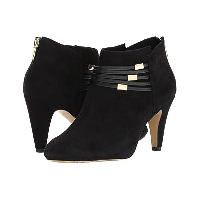 Bella-Vita Nerissa (Black Kid Suede Leather/Black) High Heels