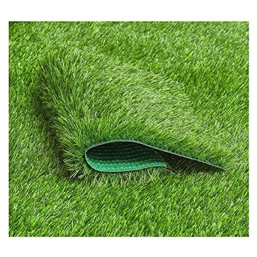 YNFNGXU Hierba Artificial Verde Hierba, Hierba Falsa Realista Deluxe Césped Sintético Césped Grueso Césped Mascota Turf Interiores/Al Aire Libre(Size:20mm Grass Height- 2m×10m)