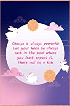 Change is always powerful Let your hook be always cast in the pool where you least expect it, there will be a fish - noteb...