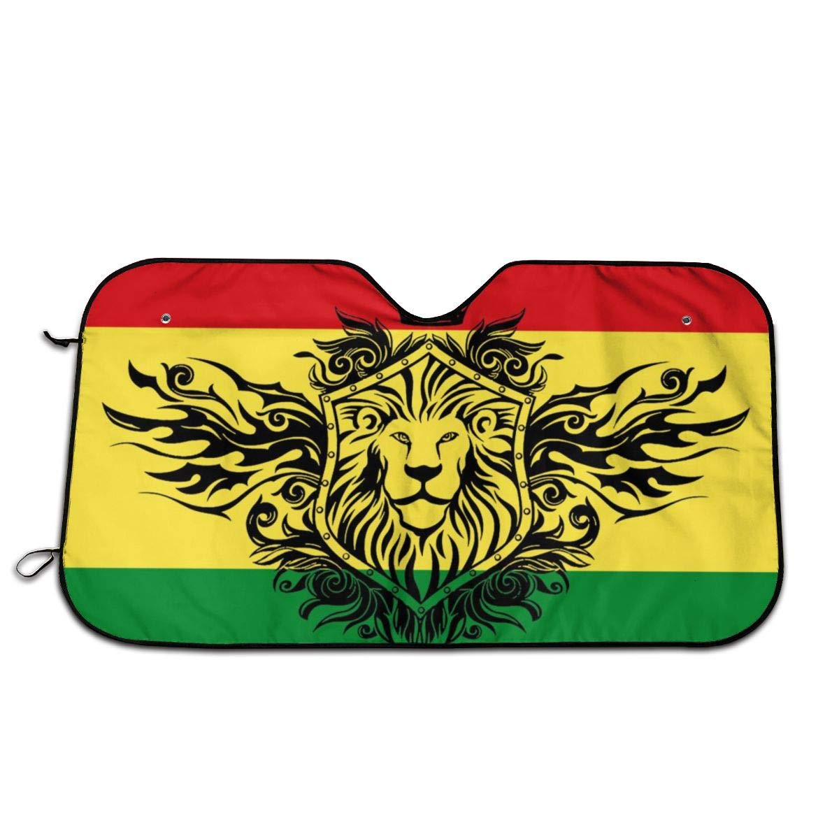 Perfect Flag of Ethiopia Windshield Sun All stores are sold UV and Shades for Department store He Car