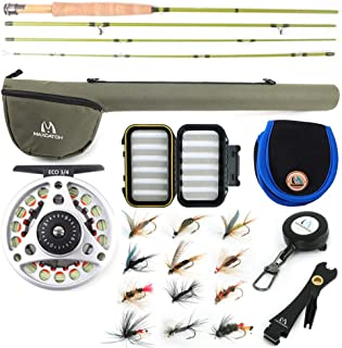Image of M MAXIMUMCATCH Maxcatch Ultra-Lite Fly Rod for Stream River Panfish/Trout Fishing 1/2/3 Weight and Combo Set Available