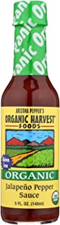 Arizona Peppers Jalapeno Pepper Sauce, 5-ounce Bottles (Case of 12)