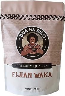 Dua Na Bilo Premium Fijian Waka Kava Root Powder 16 Oz