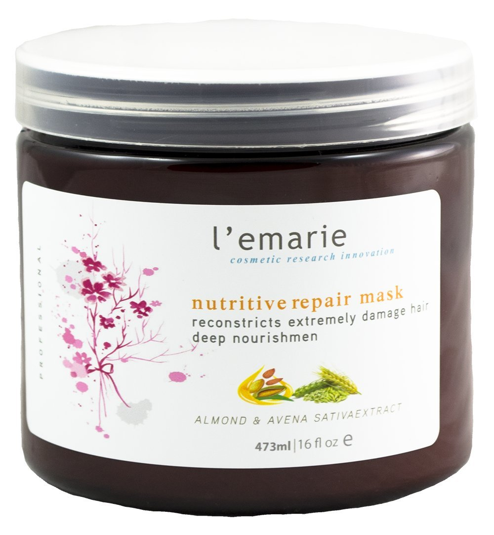 Latest item L'emarie Nutritive Repair Hair famous Mask W Deep Treatment Conditioner