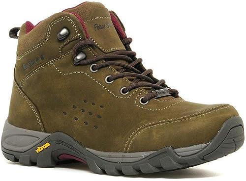 Peter Storm mujer Grizedale Mediados de Paseo Bota al Aire Libre Zapato Calzado marrón, Marrã³n, 39