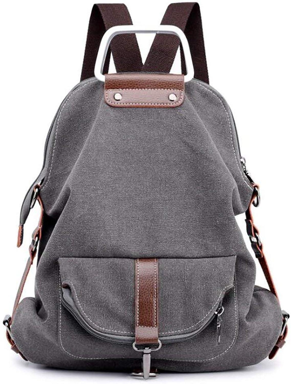 Amayay Rücksack Teenager Stylisch Casual Erwachsene Daypacks Vintage Backpack Damenmode Rucksack Einfacher Stil Vielseitig Groe Kapazitt Leinwand 38  11  40Cm (Farbe   Colour, Größe   One Größe)