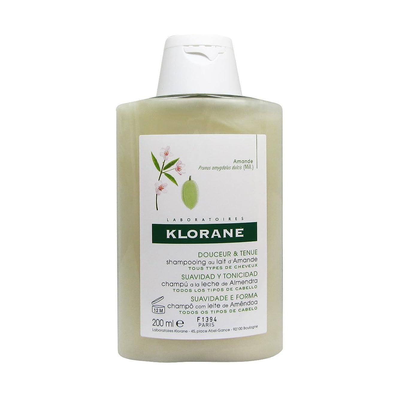 農学波イディオムKlorane Almond Milk Shampoo 200ml [並行輸入品]