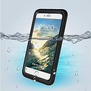 iPhone 7/8 Waterproof Case, iPazzPort Underwater Full Sealed Cover Snowproof Shockproof Dirt proof Waterproof Case with Bu...