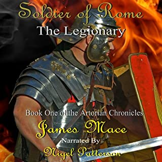 Soldier of Rome audiobook cover art