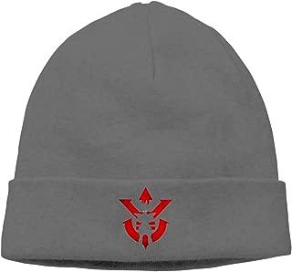 MUtang Vegeta Royal Saiyan Symbol Skull Hats Knitted Cap Beanie Black