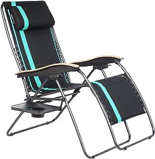 wooden zero gravity chair