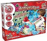 Science4you Laboratorio Antivirus Juego de Experimentos para Ninõs - Hace Jabones y Crea bacterias y hongos - Kit Manualidades y Laboratorio de Quimica - Juguete para Niños y Niñas 8-12 años