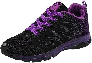 WWricotta Dames sportschoenen, ademend, gymschoenen, loopschoenen, veterschoenen, vrijetijdsschoenen, sneakers, schoenen, ...