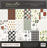MATCH YOUR CHRISTMAS STATIONERY COLLECTION - Add the matching stickers, washi, and die cuts to complement your Christmas stationery collection. UNIQUE GIFT - This is a great present for journal enthusiast friends, family, or work mates. These pieces ...