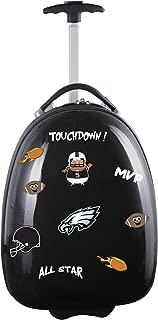 """NFL Kids Lil' Adventurer Luggage Pod, Unisex, NFL Philadelphia Eagles Kids Lil' Adventurer Luggage Pod, Black, NFPEL601_Black, Black, 18"""""""