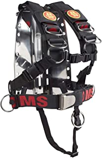 OMS SS Backplate w/Comfort Harness SS System II