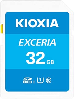 SDHC 32GB KIOXIA (旧東芝メモリー)EXCERIA 超高速UHS-I CLASS10 フルHD動画撮影 日本製[並行輸入品]