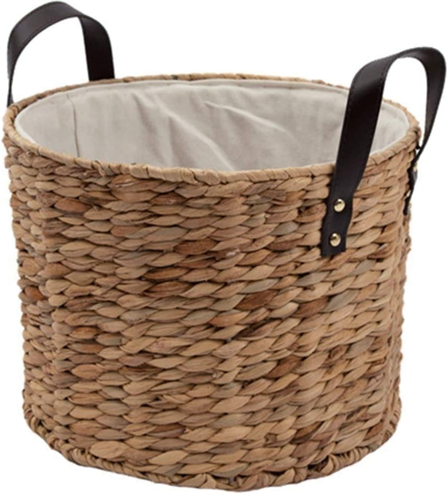 2021 Don't miss the campaign spring and summer new TFJJSQA Special Simple Storage Basket Rattan with Woven H