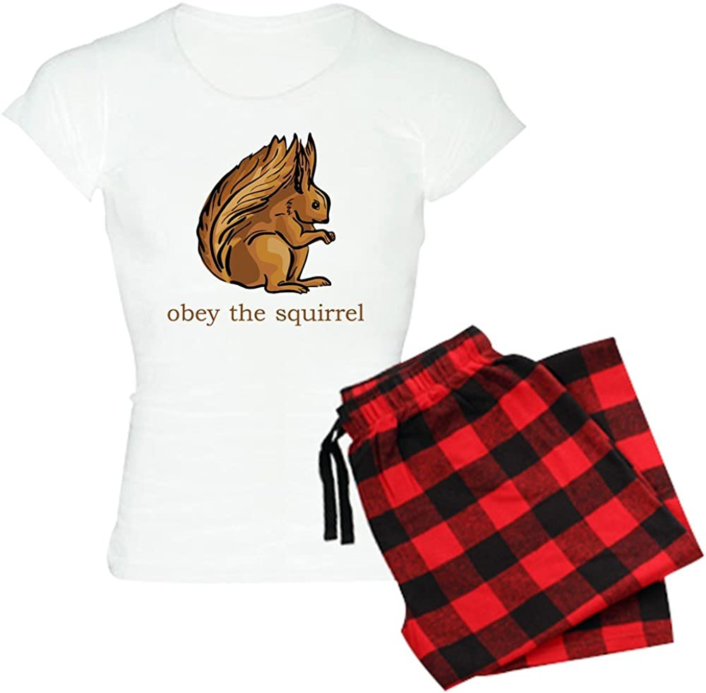 CafePress Obey Sale Special Price The Squirrel PJs Max 80% OFF Women's Light