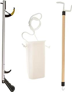 "Sammons Preston Assistive Device Kit 5, Includes 26"" SPR Reacher, Wide Sock Aid & 26"" Dressing Stick, Adaptive Dressing & ..."