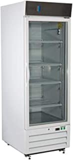 American BioTech Supply ABT-LS-12 Standard Laboratory Glass Door Refrigerator, 12 cu. ft. Capacity, White