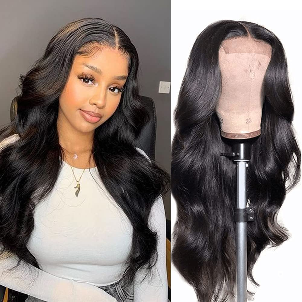 18 Inch Lace Front Wigs Human Bleached wi Pre Knots Outstanding Plucked Hair New mail order