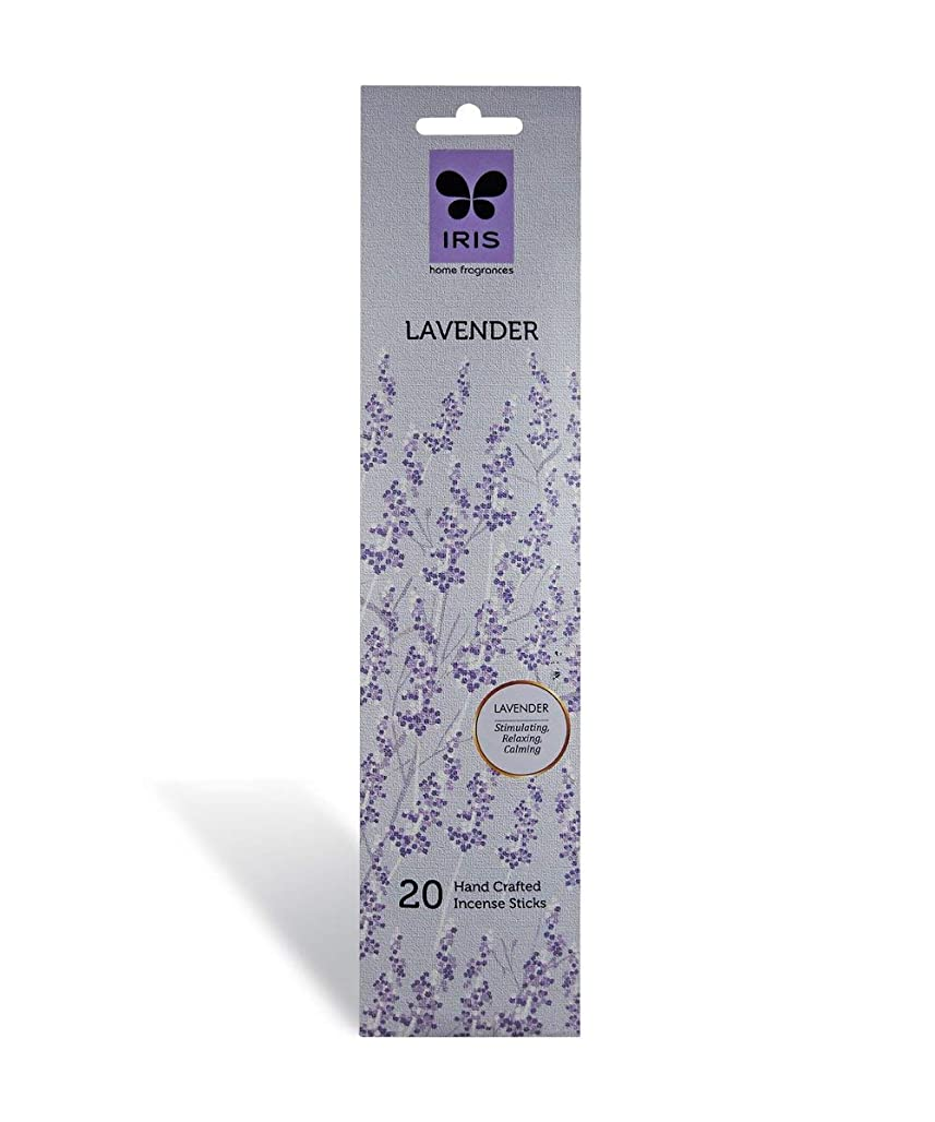 コインキャリア膨らみIRIS Signature Lavender Fragrance Incense Sticks