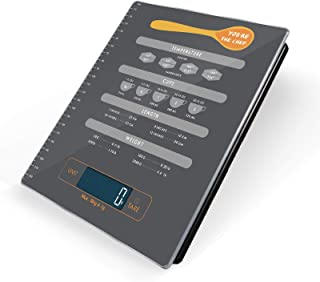 Food Scale, Digital Scale, Kitchen Scale Electronic Scales Digital with LED Multifunction Weight Touch Induction, i-Star Accurate Calculator with Conversion Chart Measurement Scale, Tempered Glass