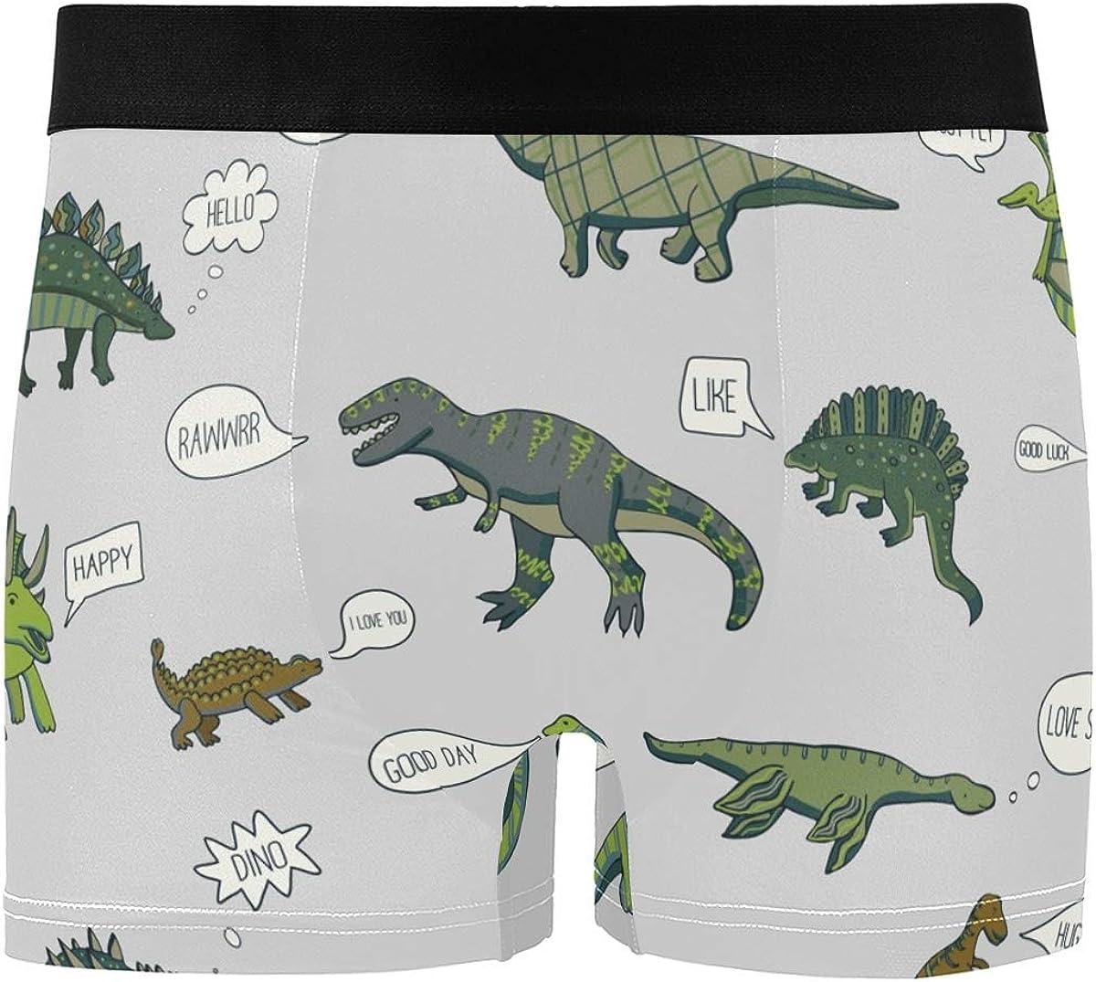 Unicorns Men's Underwear Men Boxer Briefs Comfort Soft Boxer Briefs