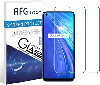 AFGLOOY 2Pack, Screen Protector Compatible with Realme 6/Realme 6S, Tempered Glass for Realme 6, 9H Hardness, Scratch Resi...
