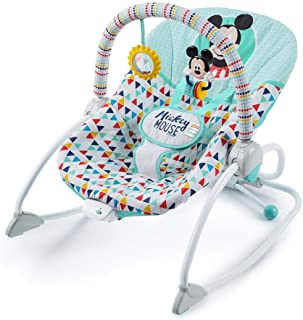 Disney Baby Mickey Mouse Happy Triangles Infant to Toddler Rocker™