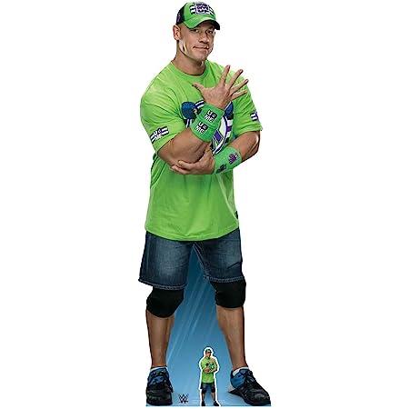 Star Cutouts Ltd SC1241 John Cena Live Fast, Fight Hard, No Regrets!, Cartón, Multicolor, 185 x 60 x 185 cm