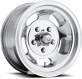US Mags Indy 15 Polished Wheel / Rim 5x4.5 with a 1mm Offset and a 72.60 Hub Bore. Partnumber U10115806545