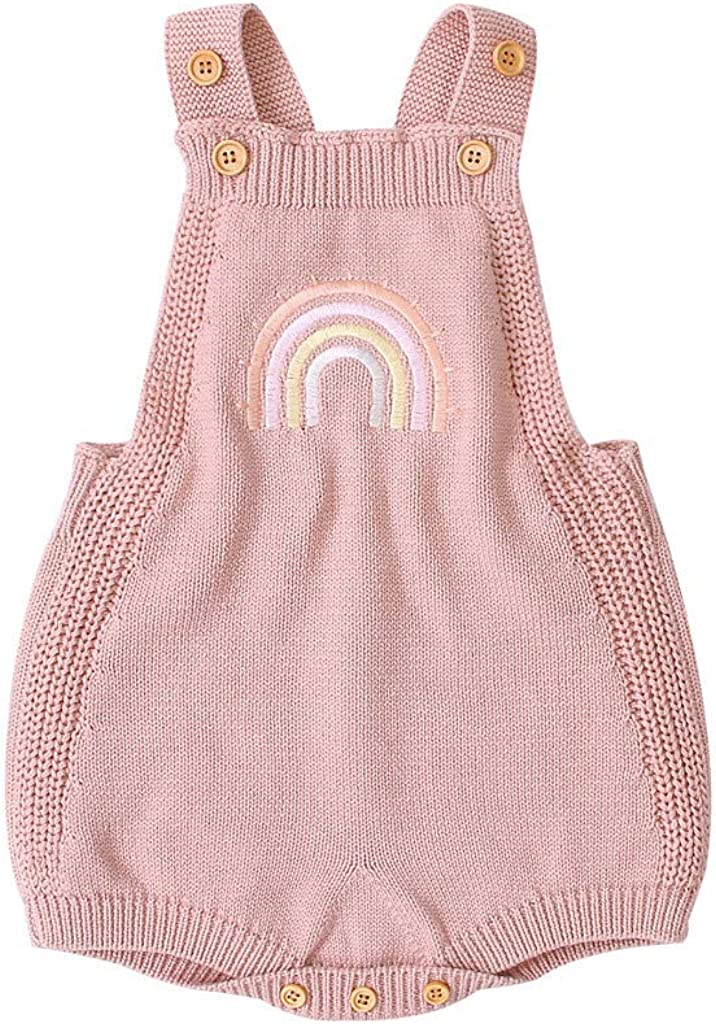 Spring Knit Romper 0-18 Months Kids Large-scale sale Infant Toddler Baby NEW before selling ☆ Newborn