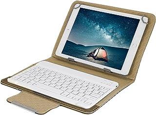 Dibiao 10 surfplatta laptop universellt PU-skyddsfodral + bluetooth tangentbord för Android/IOS/WIN