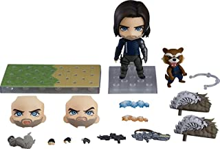 Good Smile Avengers: Infinity War: Winter Soldier Infinity Edition (Deluxe Version) Nendoroid Action Figure, Multicolor