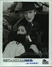 1985 Press Photo John McEnery, Jane Seymour in Jamaica Inn TV miniseries