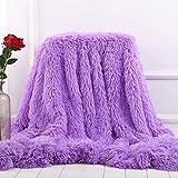 MYRU Plush Super Soft Blanket Bedding Sofa Cover Furry Fuzzy Fur Warm Throw Qulit Cozy Couch Blanket...