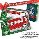 Die Kleine Therapie für Nürnberg-Fans | 2X süße Saison-Schmerzmittel | Witzige Geschenke & Fanartikel by Ligakakao.de | Besser als Kaffee-Tasse, Kaffeepott, Becher oder Fahne