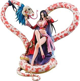 ONE Piece Boa Hancock Emperor Nine Snake Boxed Handmade Model Figure