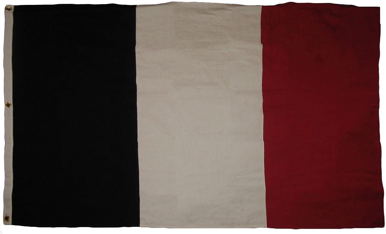 格安激安 AES 4x6 Embroidered France French Banner Large Cotton 4'x6' 卸直営 Flag