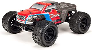 ARRMA RC Monster Truck: 1/10 Granite Voltage MEGA 2WD SRS RTR with 2.4GHz Radio | 1800mAh 6C NiMH Battery | Charger | 1:10 Scale (Red/Black), ARA102727T3