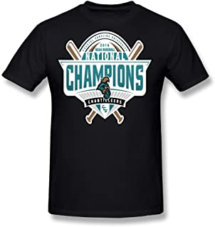Guiwan Men's Coastal Carolina Chanticleers 2016 Men's Baseball College World Series National Champions T-shirt