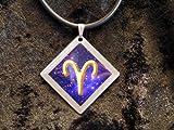 RONIC Design 'Collana con segno zodiacale simbolo di Bold Ariete