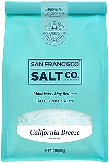 California Breeze Bath Salts - 2 lb. Luxury Bag by San Francisco Salt Company