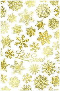 Christmas Xmas Snowflake Glimmer Hot Foil Plate Metal Dies,Scrapbooking Metal Cutting Dies Paper Card Making Crafts DIY Em...