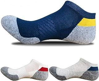 Sneaker Calcetines de Algodón para Mujeres y Hombre (3 Pares) Suaves y Cómodos, Transpirables, Desodorante Antibacterial Duradero, Calcetines Deportivos y De Oficina Unisex