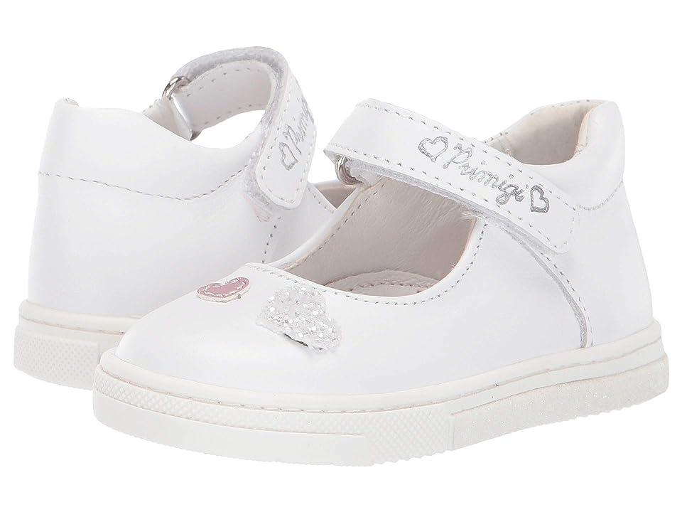 Primigi Kids PGR 34080 (Infant/Toddler/Little Kid) (White) Girl